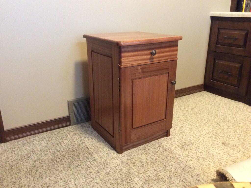 Bedside Cabinet by Brian Ensberg