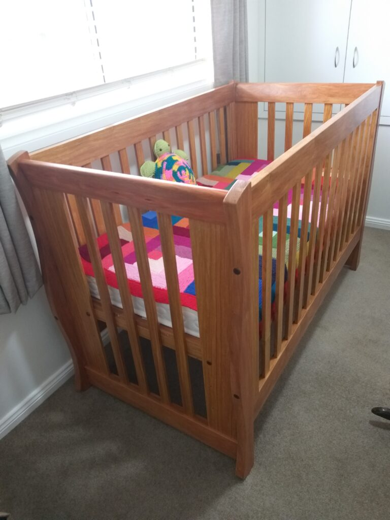 Baby's Cot by Andrew Scott