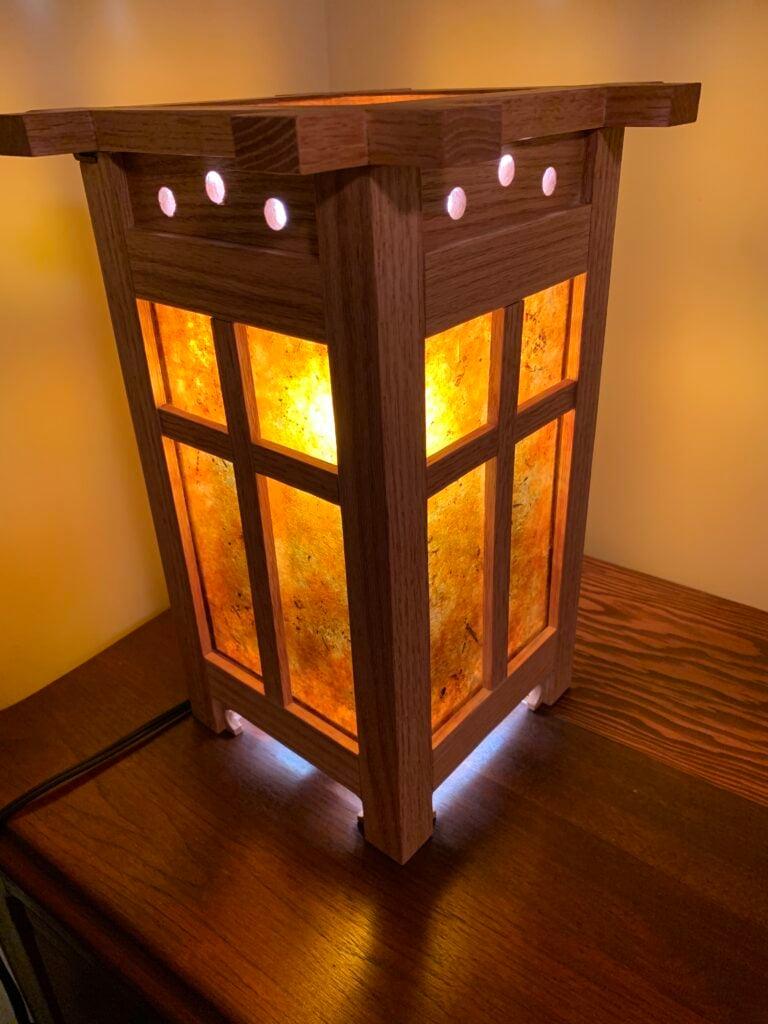 Craftsman-style Lamp by Brett Todd