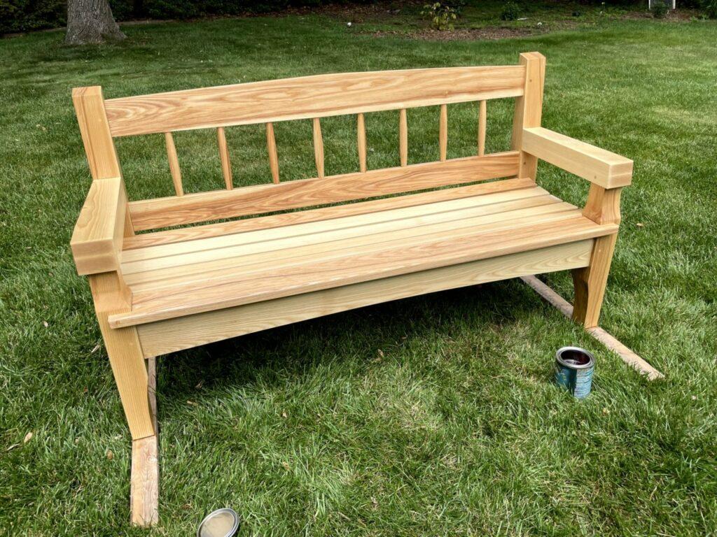 Garden Bench by Robert Reinsel