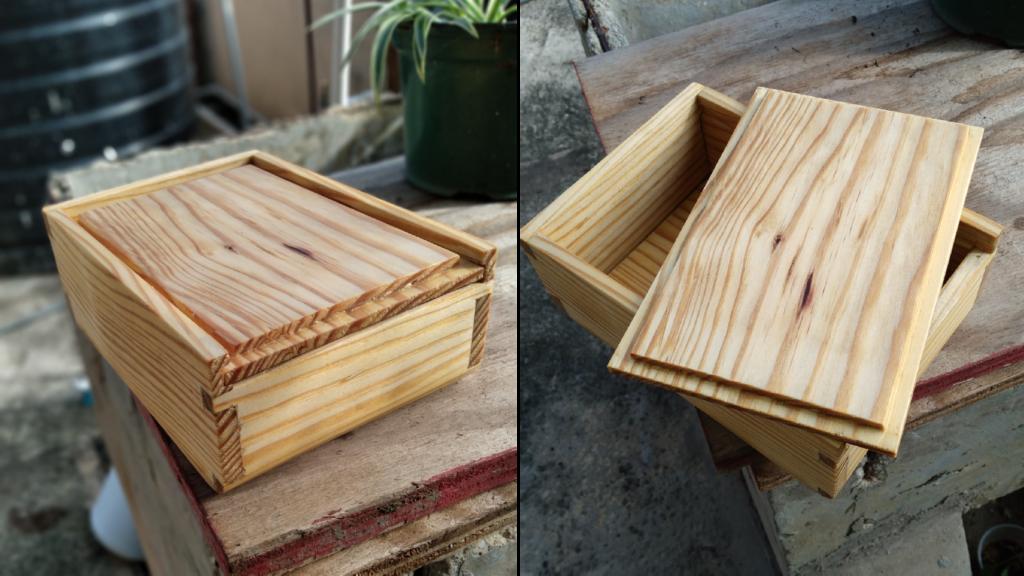 Dovetail Box by Kristophe Sankar