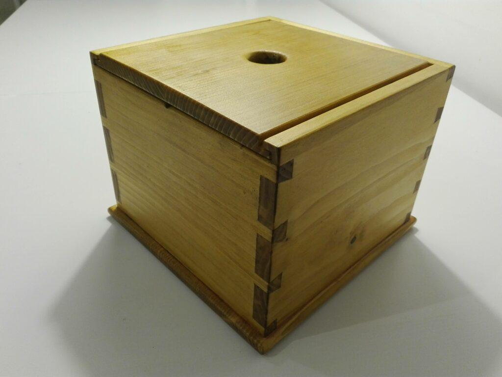 Dovetail Box by Michal Ozaist