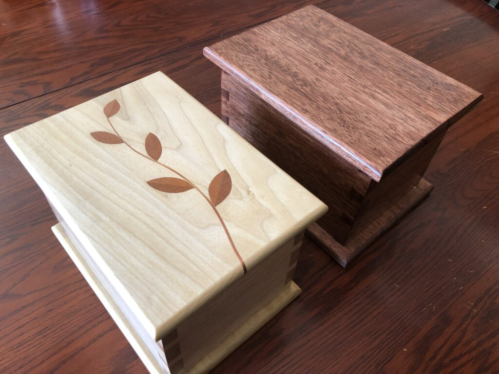 Dovetail Boxes by Dave Larson